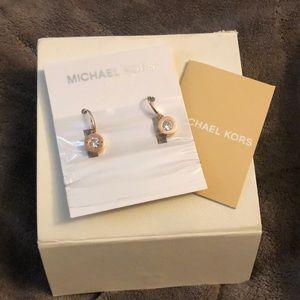 Michael Kors Rose Gold Earrings